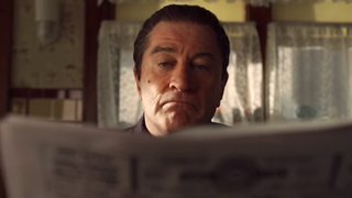 The Irishman's final trailer is riddled with bullets, regret