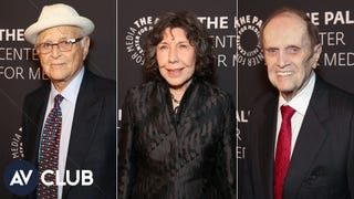 Norman Lear, Lily Tomlin, and Bob Newhart on hats, computers, and getting arrested