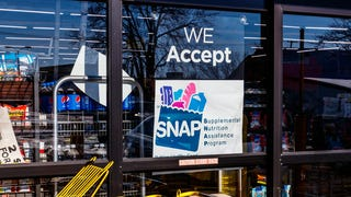 In California, you can use SNAP benefits for restaurant food