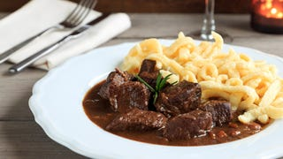 The road to love is paved with goulash