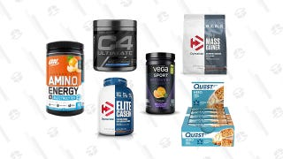 Stock Up on Discounted Protein Bars and Pre-Workout Supplements With Today's Gold Box