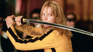 Quentin Tarantino makes his one true action movie, and it's glorious