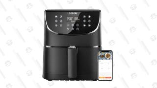 Cook a Ton of Crispy (and Mostly Healthy) Food With This Discounted Smart Air Fryer