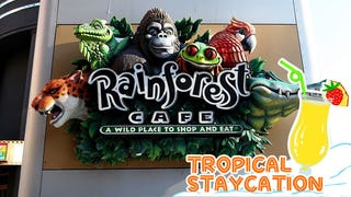 Schlock and awe: 3 grown-ups try Rainforest Cafe