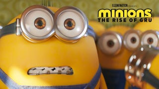 Here's the Minions: The Rise Of Gru Super Bowl spot