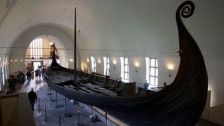 Viking ship discovered buried under a Norwegian farm