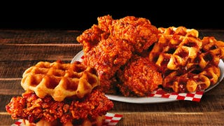 KFC debuts Nashville Hot Chicken & Waffles after finding both foods in its kitchens