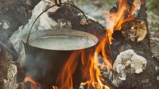Ever considered how humans cooked before they invented pots? Us neither.