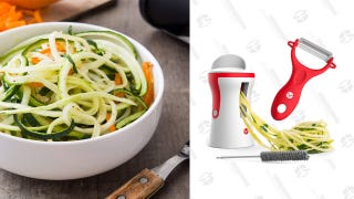 Turn All Of Your Veggies Into Noodles With This $3 Spiralizer