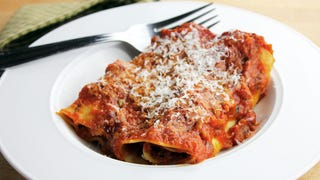 Try homemade manicotti, a festive meal during holiday limbo