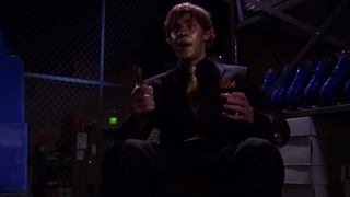 Do the Scarn in celebration of The Office uploading Threat Level Midnight in full