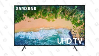 """Upgrade Your Home Theater With This 65"""" Samsung TV"""