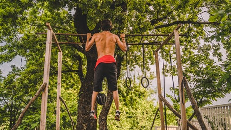 How to Do Pull-Ups Without a Pull-Up Bar