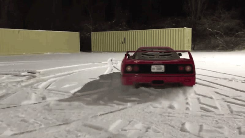 Doctor Who Wrecked Ferrari F40 Demands 758000 Payout