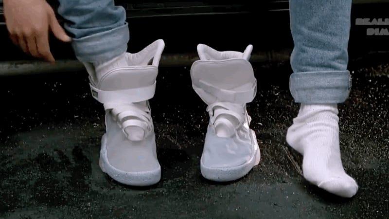 Nike lanzará en 2019 unas zapatillas que se atan solas como