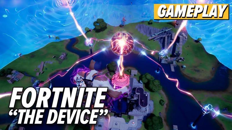Fortnite S Doomsday Device Event Sank The Island