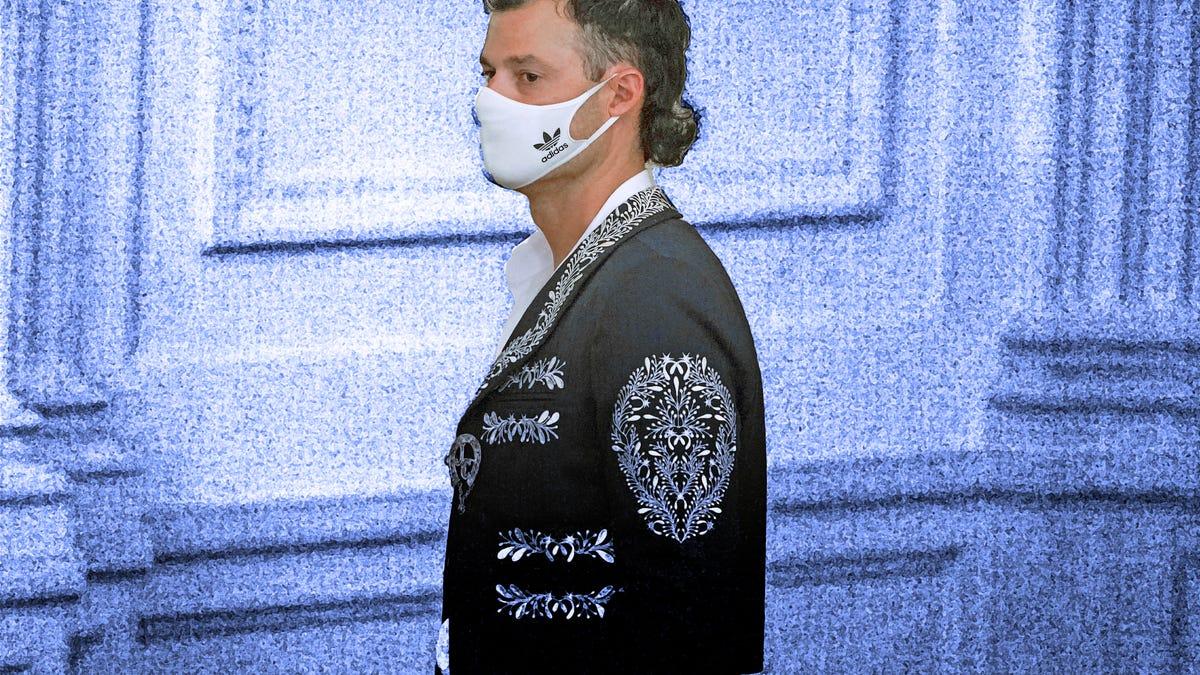 Dodgers' Joe Kelly wears mariachi jacket to White House