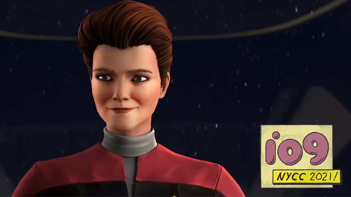 Star Trek: Prodigy's Teens Meets Captain Janeway in a New Clip