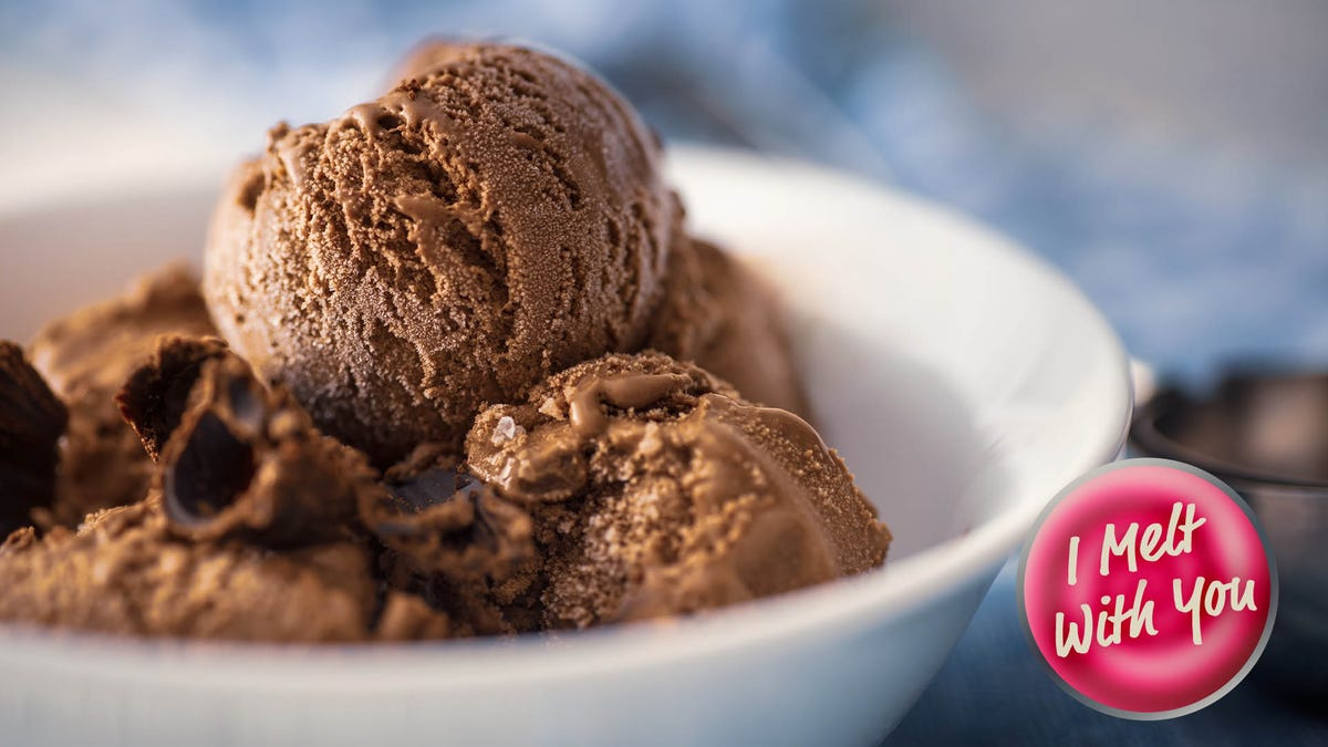 The best chocolate ice cream recipe uses dark chocolate