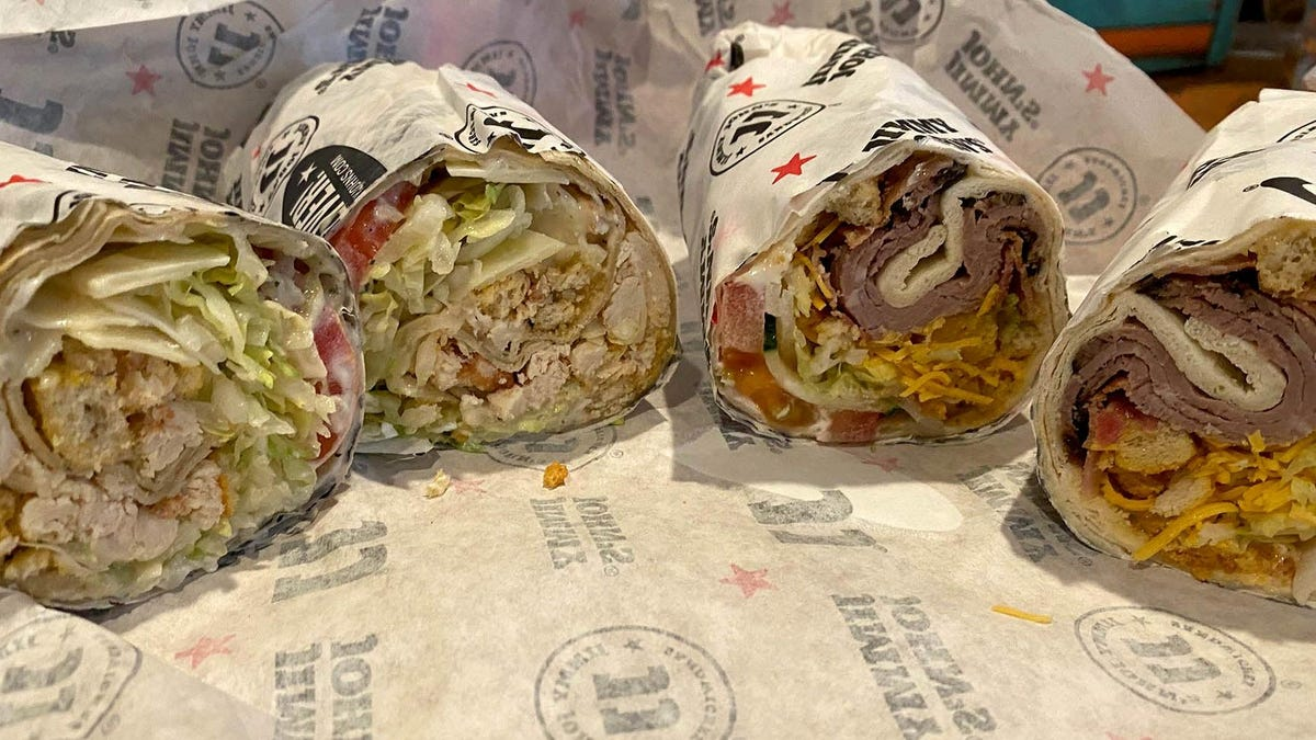 Review: Jimmy John's Chicken Caesar Wrap and Beefy Ranch Wrap