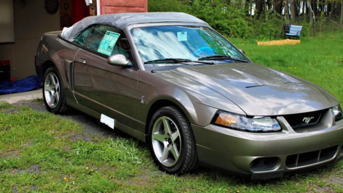 Mustang Enthusiast Buys Mint-Condition 2003 Ford Mustang Cobra 'Terminator' With Only 534 Miles