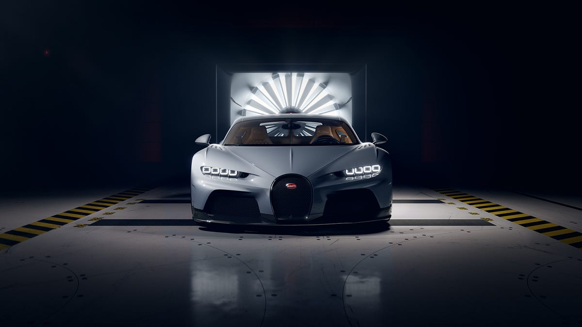 Bugatti Made A Bugatti Slightly Slower Than The Last Fast Bugatti