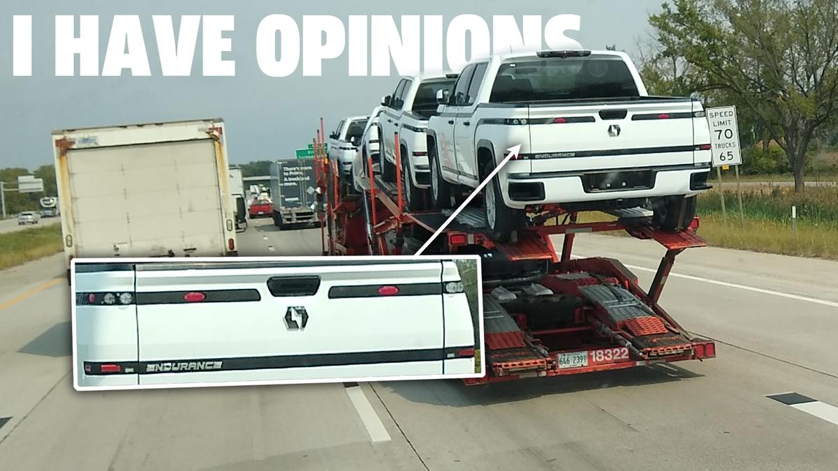 Lordstown Motors' Endurance EV Pickup Truck hat sicher ein paar beschissene Rücklichter UPDATE: Sie sind Platzhalter