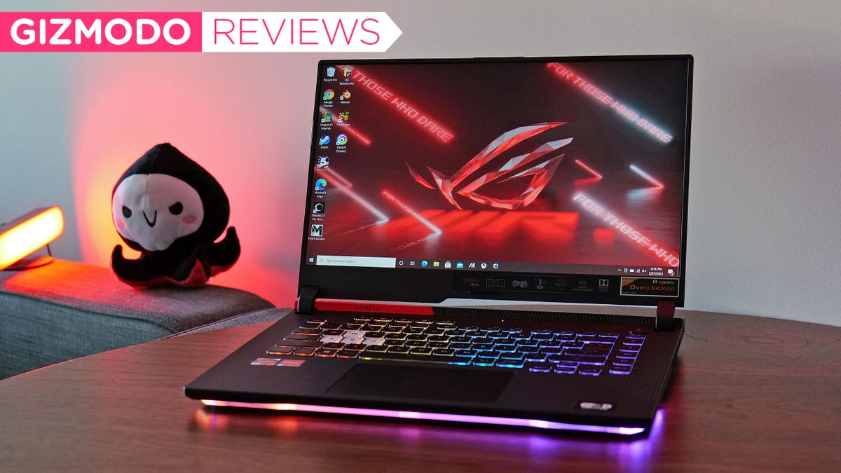 The New Asus ROG Strix G15 Packs a Punch