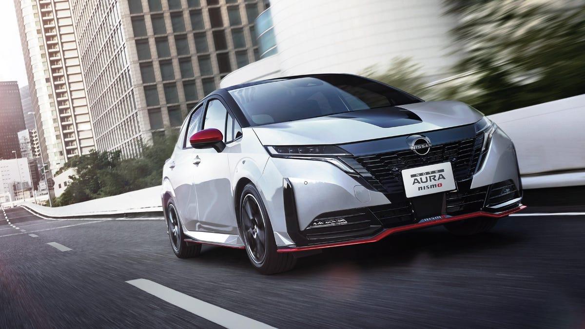 Nissans Note Aura Nismo zeigt, dass sportliche Hybride langsam wieder im Kommen sind