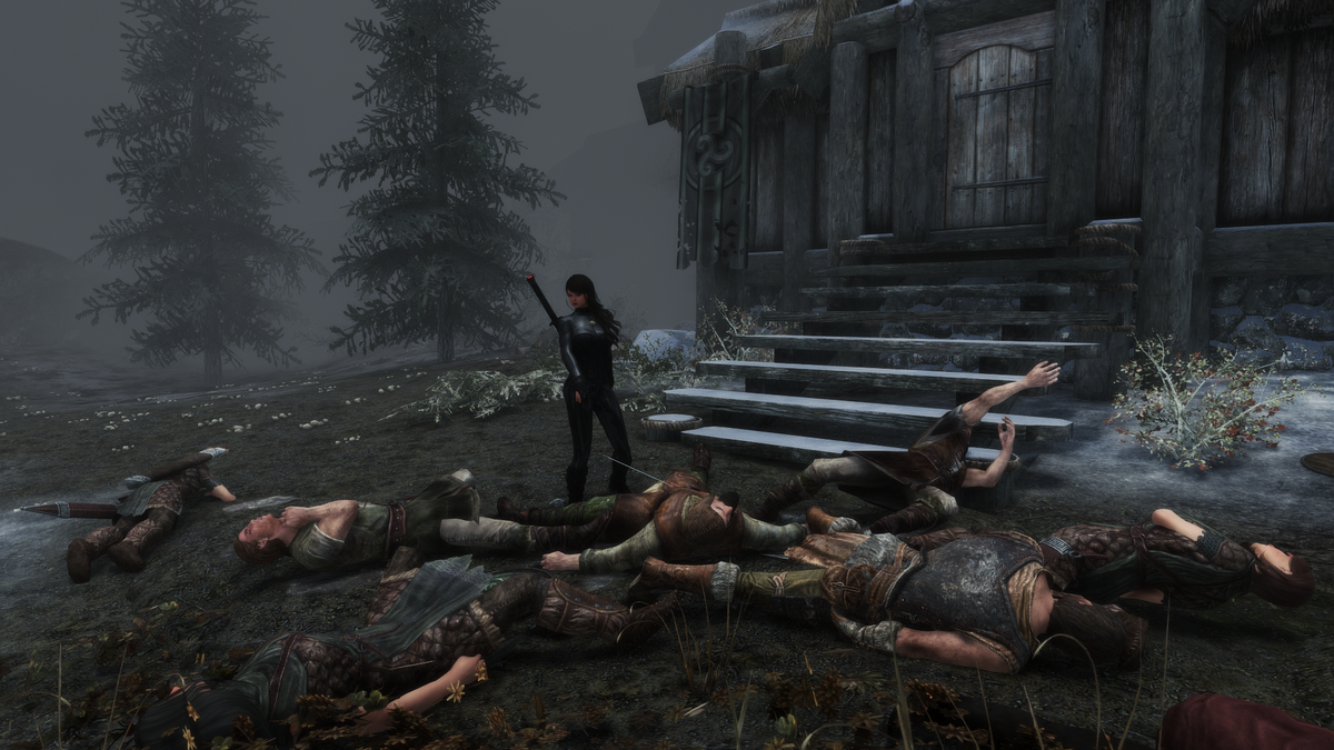 Skyrim Player Tries To Kill Every Single Living Thing In The Game, Will Die Alone And Remorseful