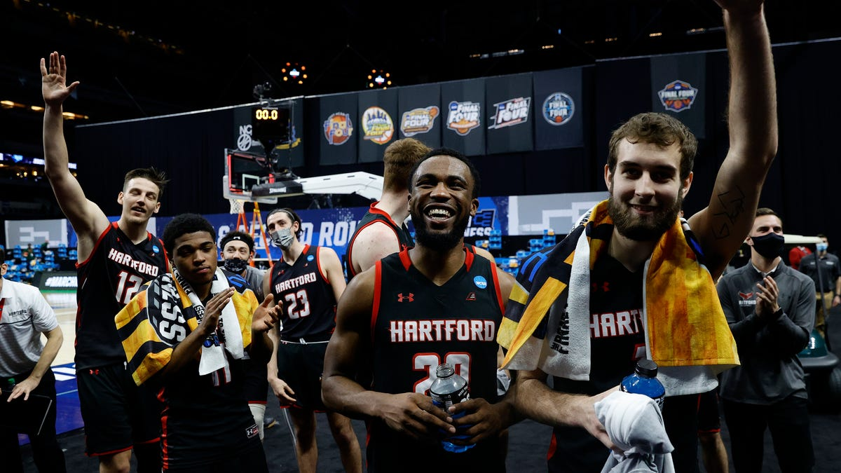 On heels of first NCAA hoops bid, Hartford student-athletes outraged over decision to downgrade from DI to DIII