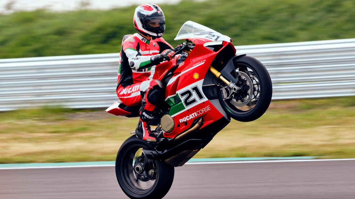 Ducati's New Track-Ready Panigale V2 Is Also A Tribute To A Legendary Rider