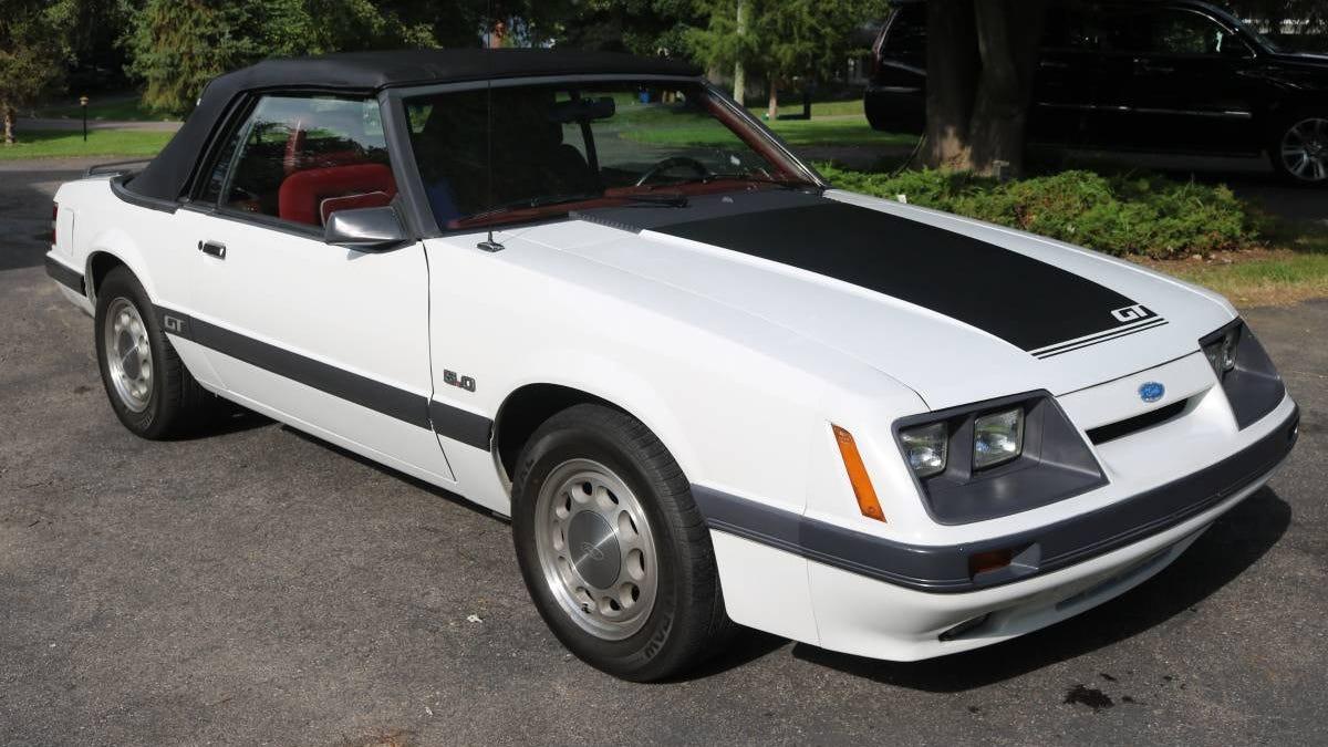 Bei $ 14.900, könnte diese 1986 Ford Mustang GT ein Geschäft sein?