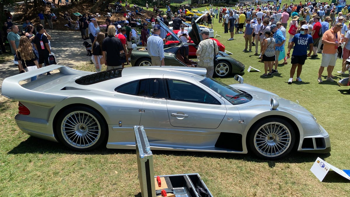 A Mercedes CLK GTR, The Need For Speed Hero, Is Set For Auction