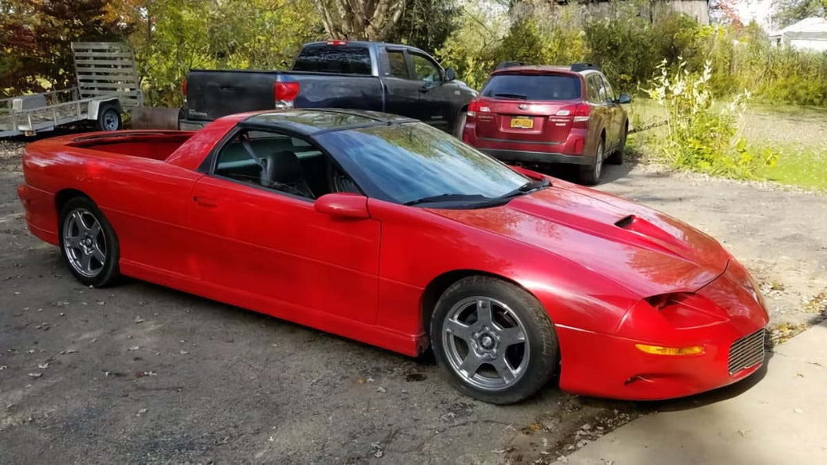 At $5,500, Could This 1997 Chevy Camaro Pick Up Your Spirits?