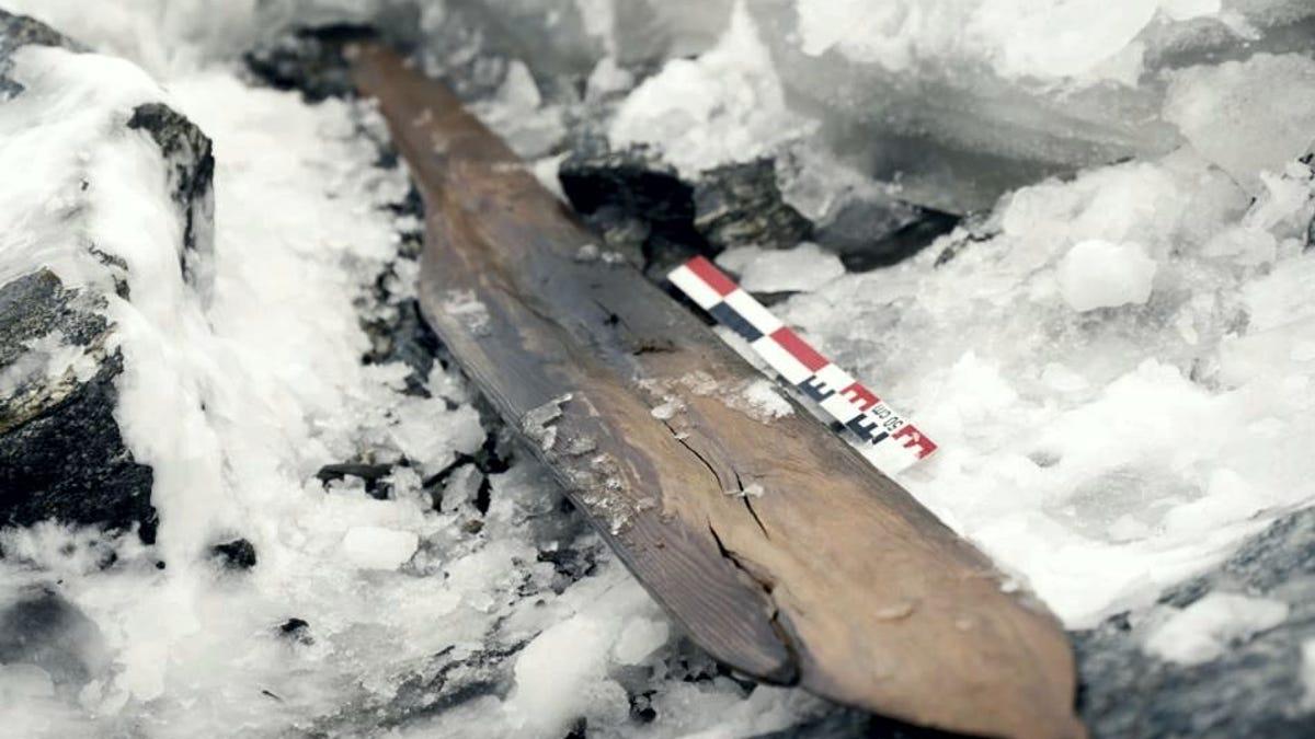 Esquí de hace 1.300 años