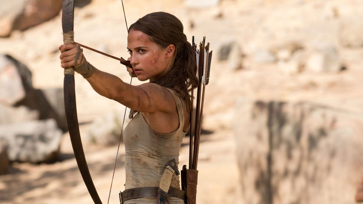 Tomb Raider's Alicia Vikander Has an Update About the Movie Sequel thumbnail