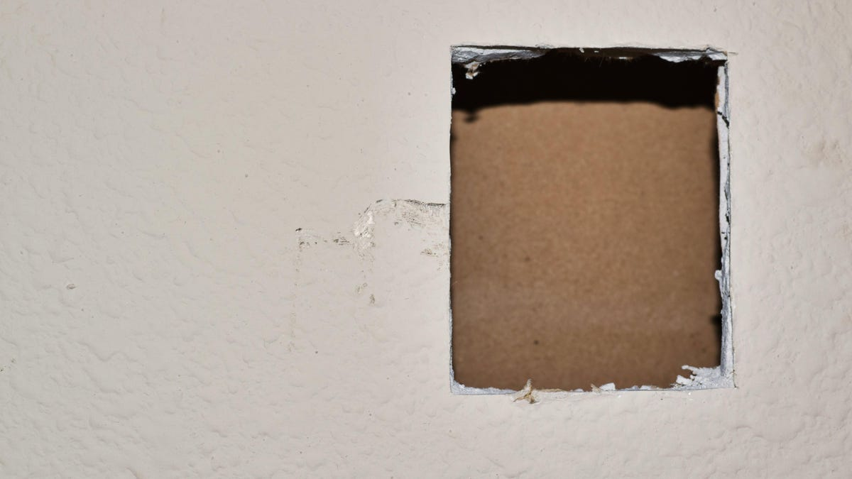How to Fix a Hole in Drywall, Plasterboard, or Concrete