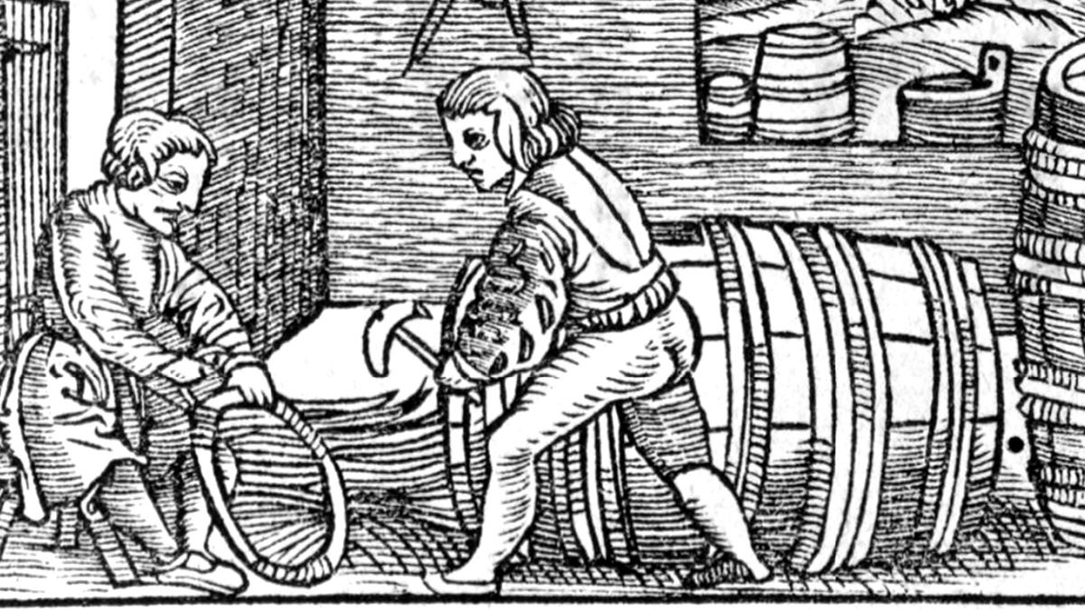 Guy Who Took Job Making Barrels In 1400s Didn't Mean For That To Become Family's Identity For Next 25 Generations