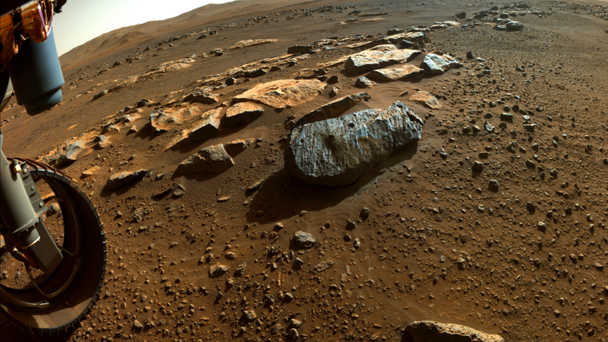 Perseverance Cored Two Martian Rocks That May Be Volcanic and Shaped by Water thumbnail