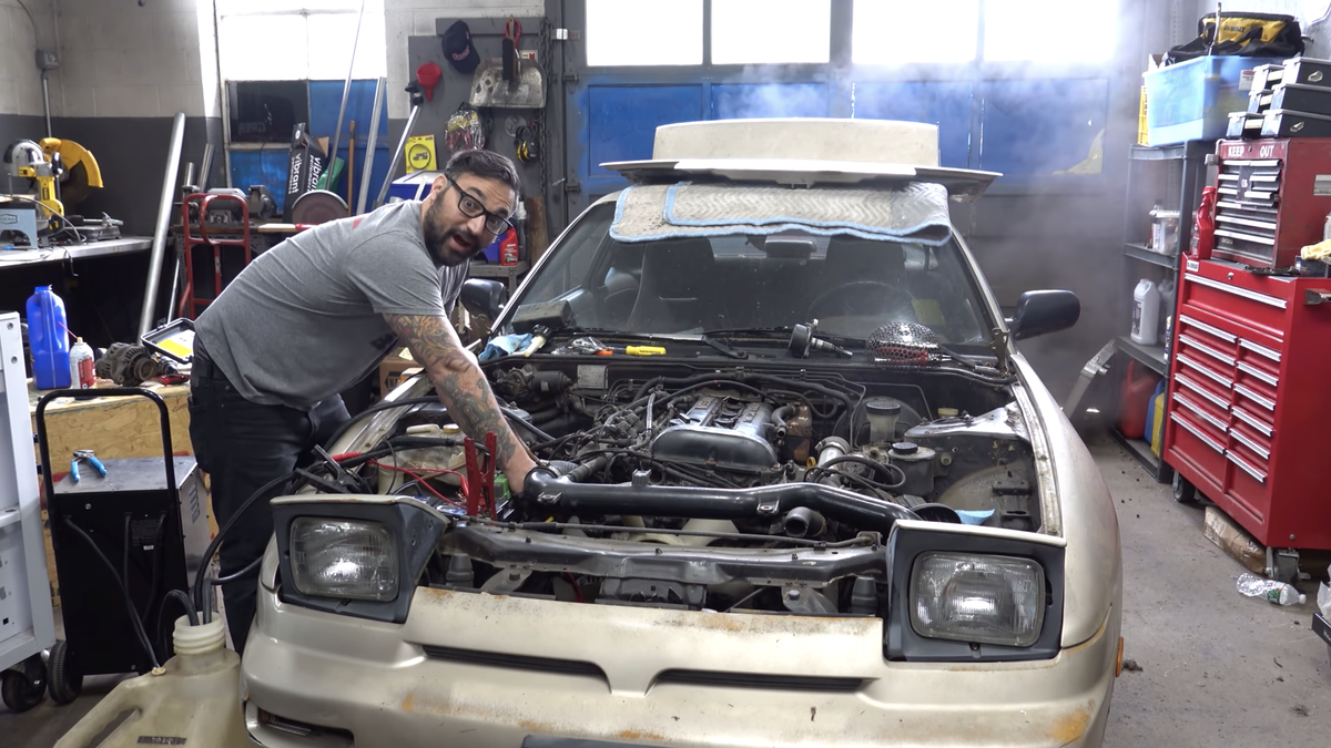 Here's The Basket-Case Nissan 240SX $1,000 Buys You These Days