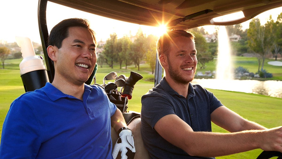 'This Is What It's All About, Boys,' Says Man Hour Away From Complete Meltdown On Sixth Hole