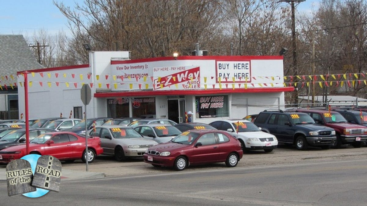 Pay Here Buy Here >> What You Need To Know About Buy Here Pay Here Car Lots