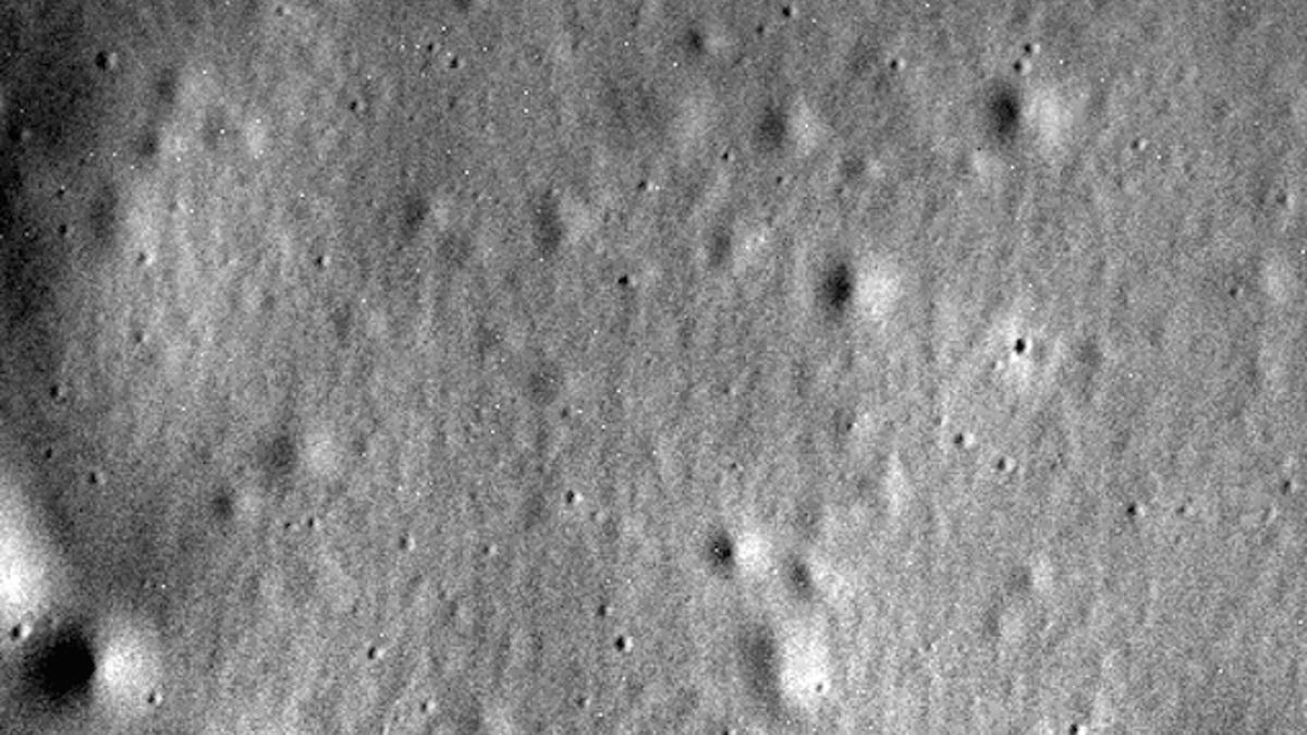 Adiós: la última foto de Messenger antes de estrellarse en Mercurio