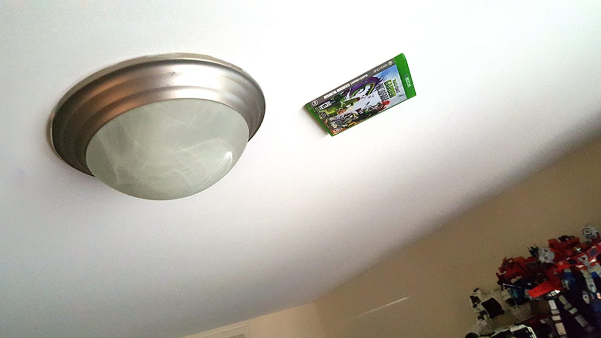 Why There's An Xbox One Game Stuck To My Ceiling