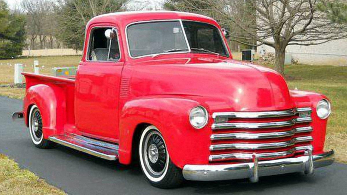 For 39 500 This Custom 1949 Chevy Five Window Is Unreeeel