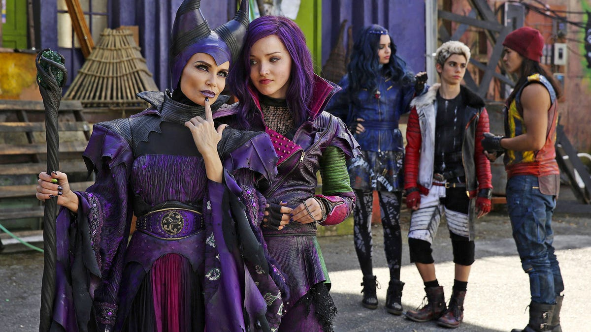 100 Pictures of Disney Descendants Porn