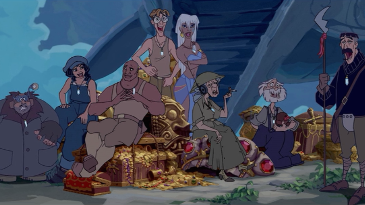 Atlantis The Lost Empire Is A Beautiful Gem Of A Movie That