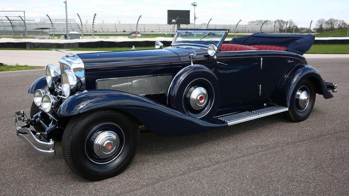 This Classy Duesenberg Is Already One Of The Most Expensive Cars On Bring A Trailer