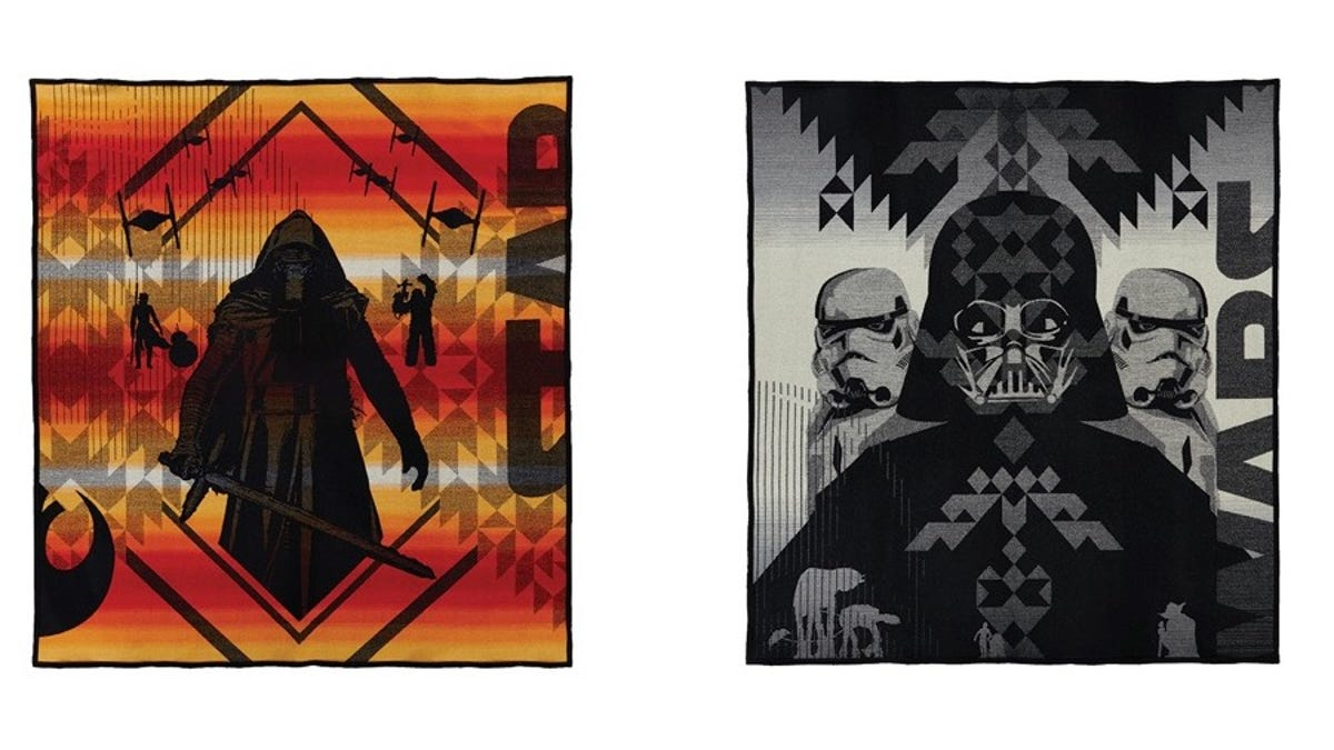 You Can Snuggle With a Sith Lord Thanks to Star Wars Pendleton Blankets